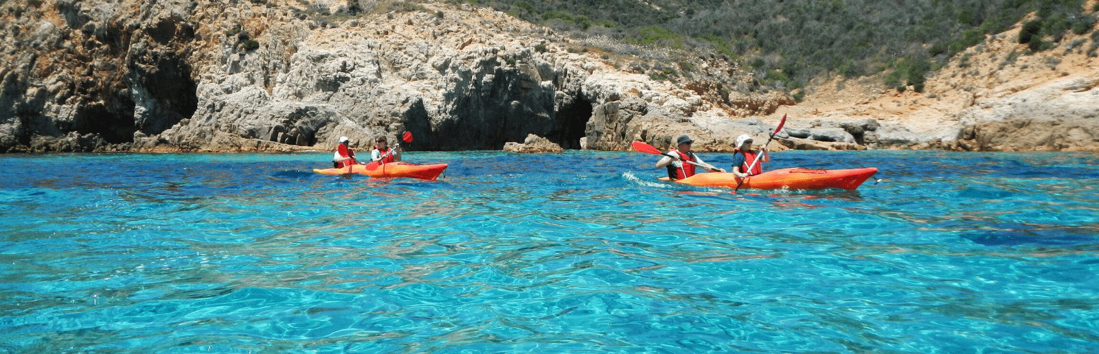 Kayak Tour in Sardinia