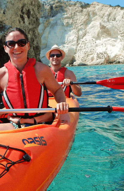 kayak in sardinia
